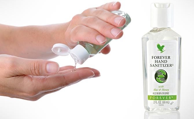 comprar forever hand sanitizer bolivia